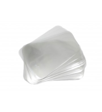 Disque PP tranches 27 cm transparent