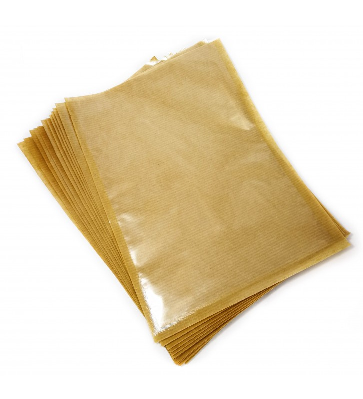 Kraft backed vacuum bags/pouches, 180x300mm