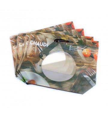 Roasted chicken shrink/vacuum wrap bags