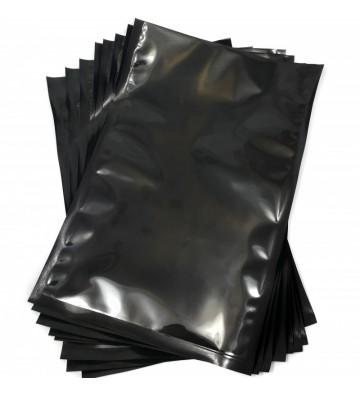 Sacs sous vide Noir et transparent de 250x350mm (25x35cm)