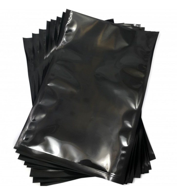 Black backed vacuum pouches 250x350mm (25x35cm)