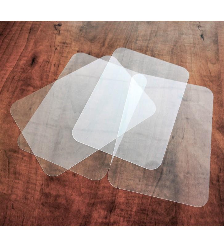 Bases Loncheado 150x210mm transparente