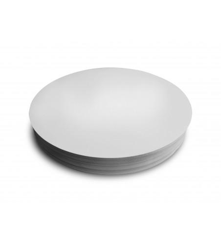 White Deli Meat/Salmon Backing Boards/Discs, 24cm