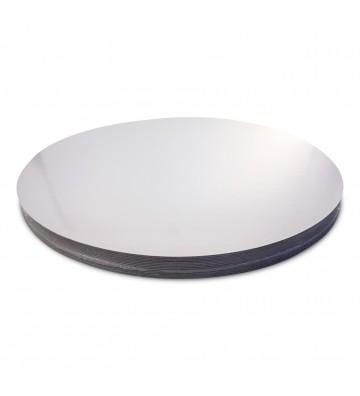 Formato Plata/Plata Loncheado 27cm diámetro