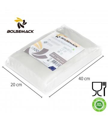 Embossed vacuum sealer bags/pouches 200x400mm (20x40cm)