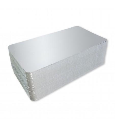 Carton Format Argenté de 210x275 mm. (21x27,5cm)